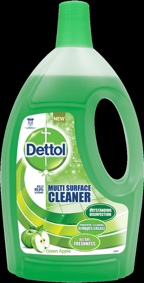 Dettol Multi Action Cleaner Green Apple