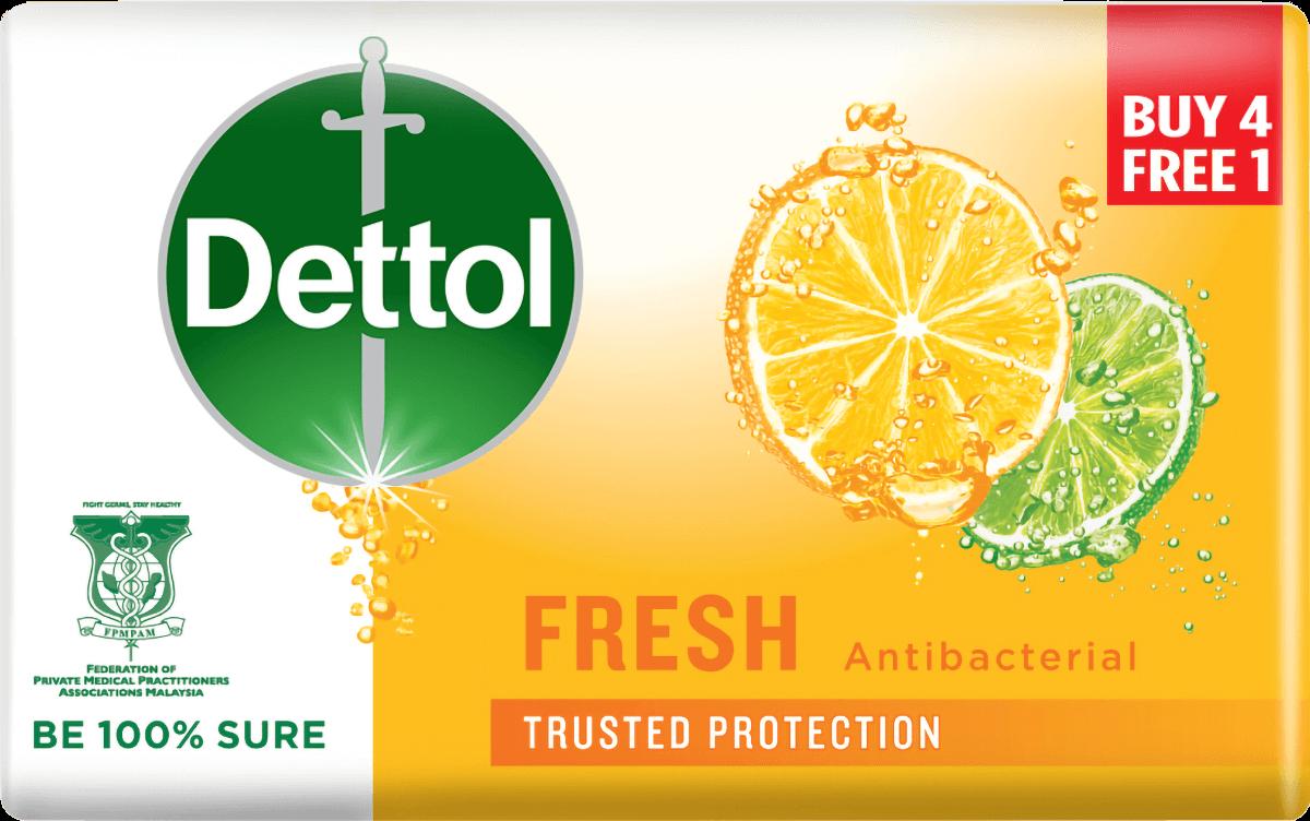 Dettol Body Soap Fresh