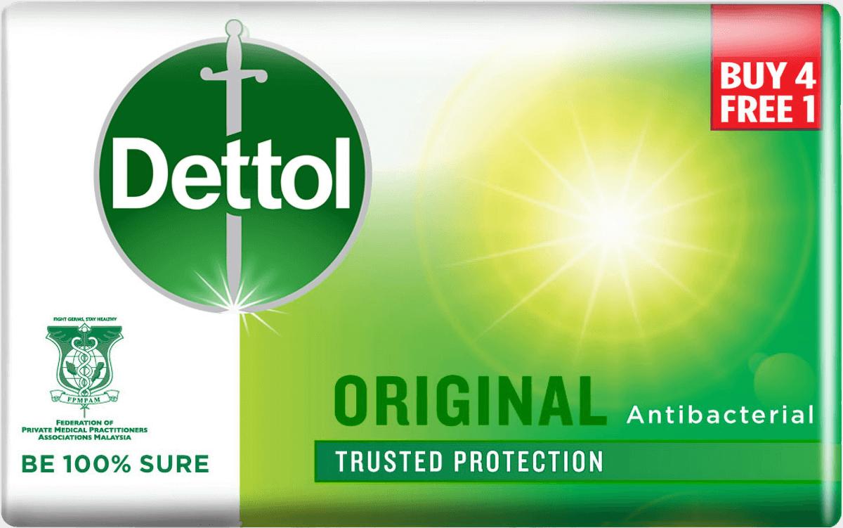 Dettol Body Soap Original