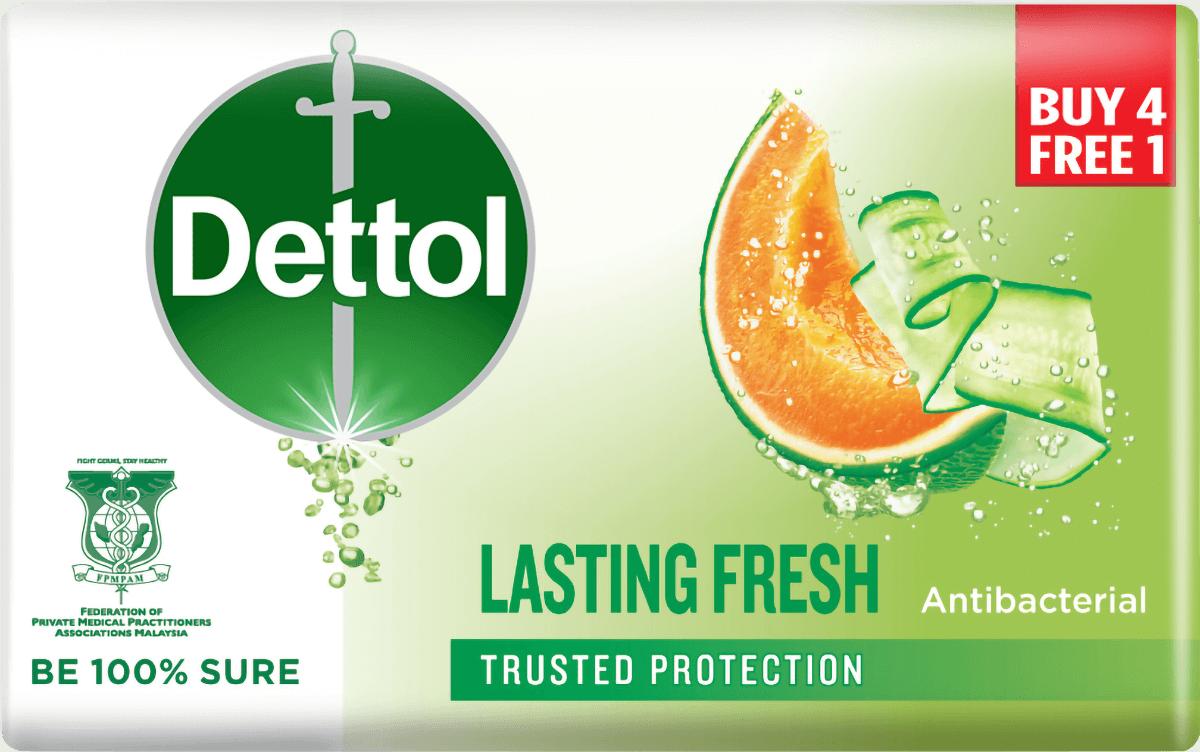 Dettol Body Soap Lasting Fresh